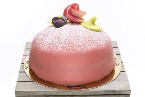 Hallonprinsesstårta